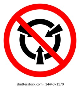 Injury Hazard Electrostatic Sensitive Device (ESD) Symbol Sign, Vector Illustration, Isolate On White Background Label .EPS10
