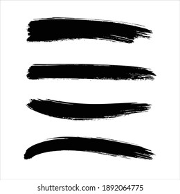 ink black abstract paint stroke background