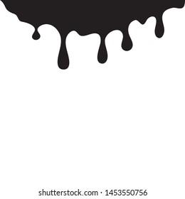ink drop Vector icon design illustration template