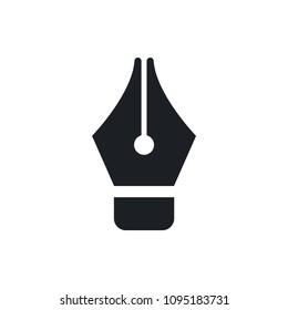 ink pen vector icon