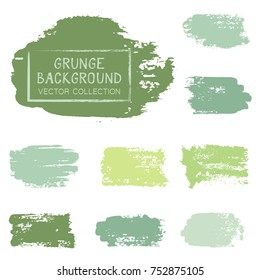 Ink smudge abstract shape stains and spots vector patch. Vintage design background elements vector collection. Paint splash, stain, dab, ink or acrylic texture. Brush stroke backgrounds set.