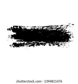 Ink vector brush stroke background. Vector illustration. Grunge texture.