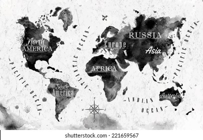 Vintage Looking World Map.Vintage World Map Images Stock Photos Vectors Shutterstock