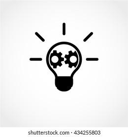 innovation Icon Isolated on White Background