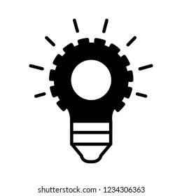 Innovation icon, vector illustration