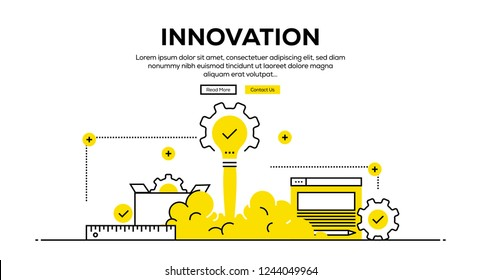 INNOVATION INFOGRAPHIC CONCEPT