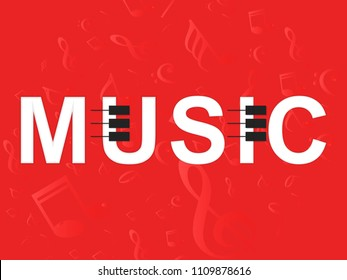 Innovative abstract or poster for International Music Day, Music Day creative banner or poster, with creative design illustration.