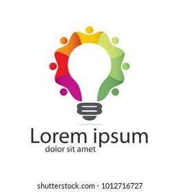 Innovative Community Creative Idea Logo