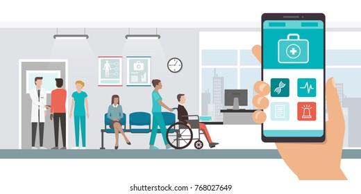 Communication in Nursing Stock Illustrations, Images
