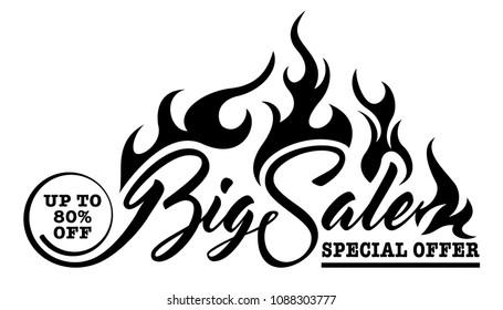 Inscription Big Sale - Shutterstock ID 1088303777