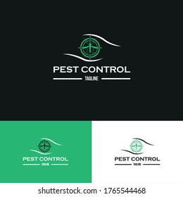 Insect and pest control logo