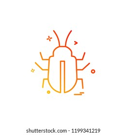 Insects icon design vector