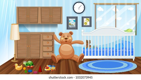 Inside a kid's room