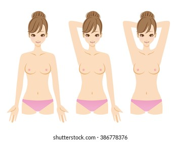 Inspection of breast cancer.