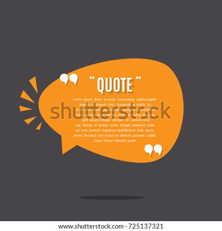 inspirational quote template stock vector royalty free 725137321