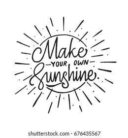 Be Your Own Sunshine Images Stock Photos Vectors