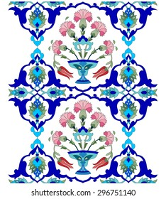 Inspired by the Ottoman decorative arts pattern designs