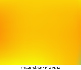 Inspiring colorful modern background. Fresh backdrop with bright rainbow colors. Vector illustration texture. Yellow easy editable and soft colored banner template.