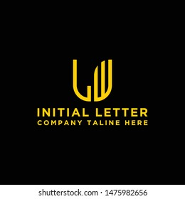 Inspiring company logo designs from the initial letters of the LW logo icon. -Vectors