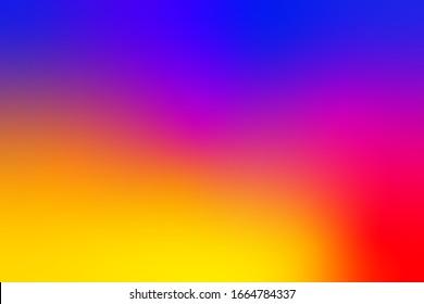 Instagram Abstract Smooth Background. Virbant Wallpaper Template For Banner. Social Media Instagram Modern Minimal Vector Blur Bright Background. Vector Illustration