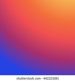 Instagram Background Gradient, Insta Vector Logo, Social Media, Colorful smooth color, Abstract wallpaper