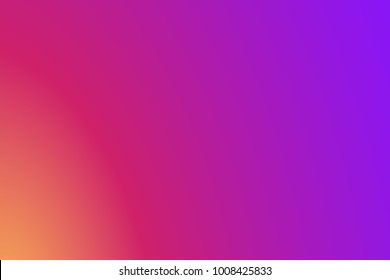 Instagram, insta Background Gradient, colorful smooth color, Abstract wallpaper. Insta Vector Logo, Social Media. Vector illustration. EPS 10