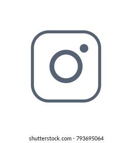 Instagram Social Media Vector Icon
