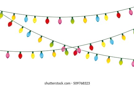 installation christmas lights decoration vector 260nw 509768323