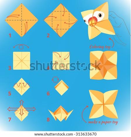 How to make paper bird decor step by step diy tutorial.