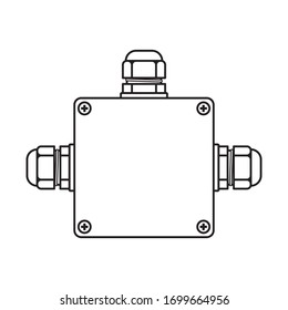 Instrument junction box with cable gland