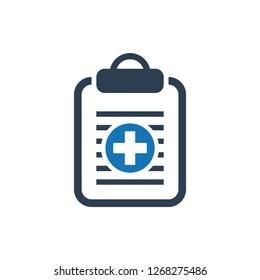 Insurance Health Document Icon