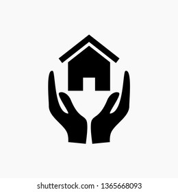 insurance sign icon vector