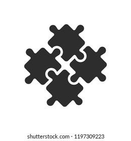 Integration Icon Vector illustration