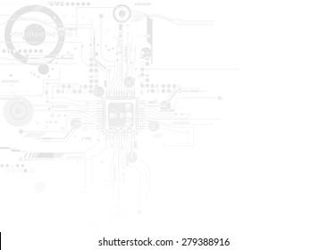 Integration and innovation technology. for Business presentation model vector