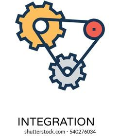 Integration Vector Icon