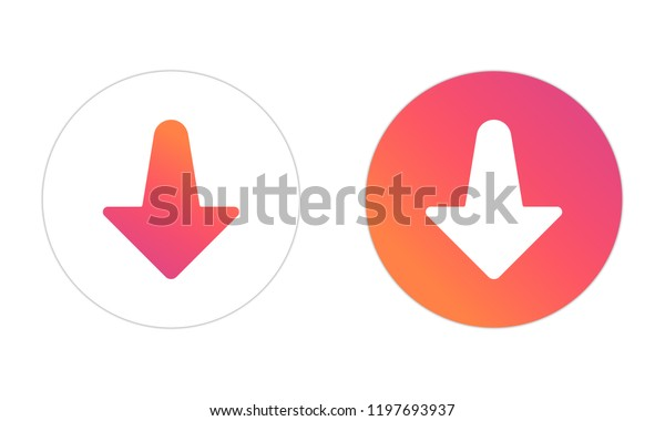Interface Social Media Popular Social Network Stock Vector