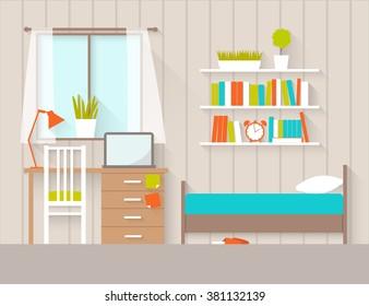 dorm room vector high res stock images   shutterstock  shutterstock
