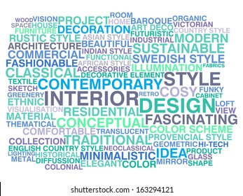 Interior Design Words Stock Vectors Images Vector Art Shutterstock