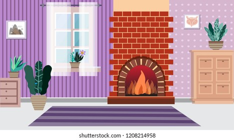 Home Modern Apartment Design Cartoon Flat Stock Vector Royalty Free Best Apartment Design Painting