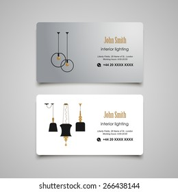 Interior Designer Business Card Templates Images Stock Photos Vectors Shutterstock