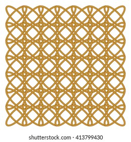 interlacement / Vector background of wicker  elements.