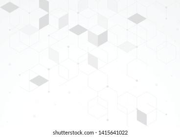 Interlocking geometric designs, rectangular boxes, 3D abstract, modern vector backgrounds.