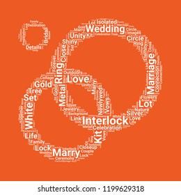 Interlocking rings icon