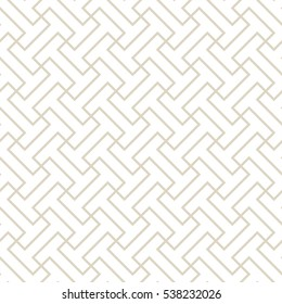 Interlocking shapes pattern background.