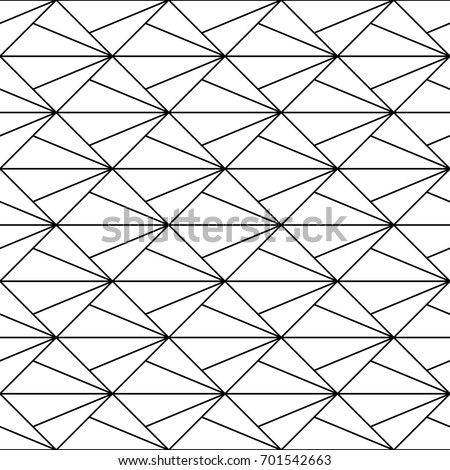 Interlocking Triangles Tessellation Background Image With Repeated Triangular Shapes Seamless Surface Pattern Design