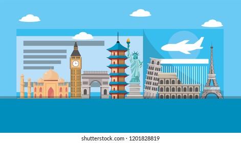 internatinal ticket to global adventure tourist