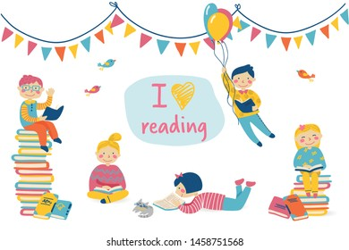 International Children's Book Day Images, Stock Photos