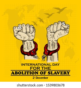 International Day for Abolition of Slavery, Poster and Banner