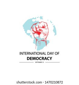 International Day of Democracy. September 15.