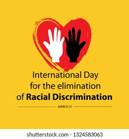 International day for the elimination of racial discrimination. March 21